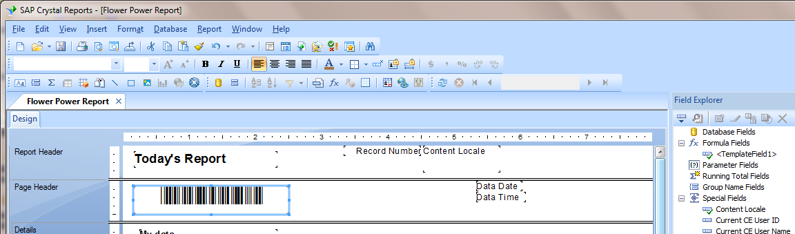 UPC and EAN barcodes in Crystal Reports