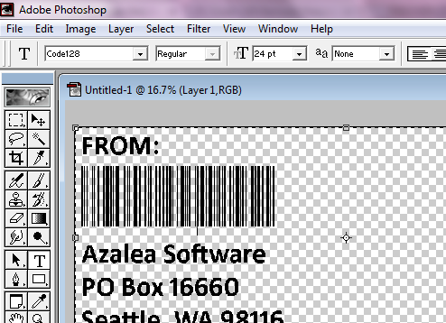 Code 128 Barcode Frequently Asked Questions : Azalea