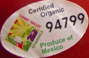 barcodes on fruits and vegetables